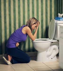 How To Make Yourself Throw Up Easily?