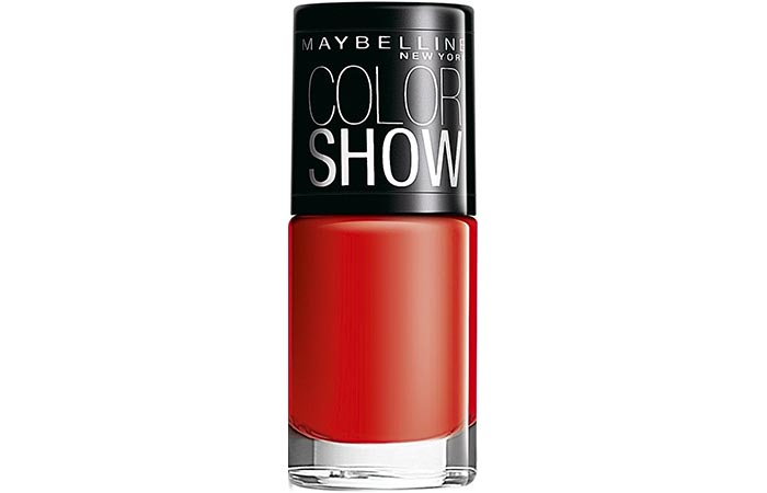 Maybelline Color Show Nail Lacquer Keep Up The Flame