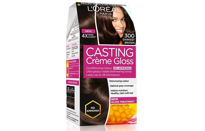 Loreal Paris Casting Creme Gloss Hair Color Review And Shades