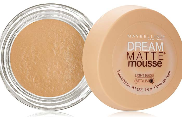 Maybelline Dream Matte Mousse Foundation Light Beige 55