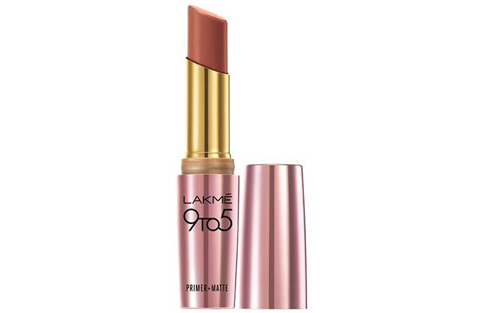 Lakme 9 To 5 Primer And Matte Lip Color Shades - Maple Map