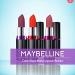 Maybelline Color Show Matte Lipstick Review (2)