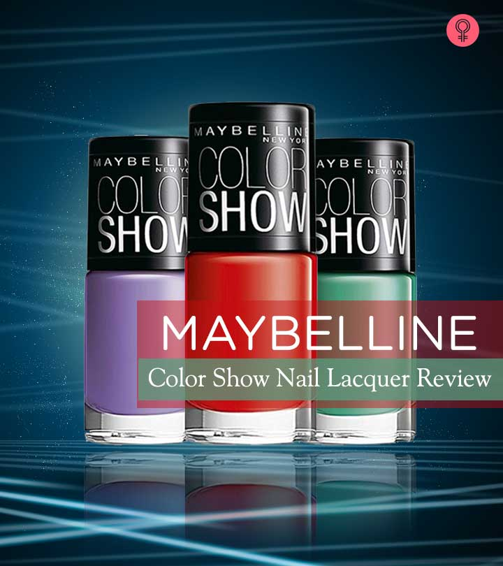 Maybelline Color Show Nail Lacquer Review