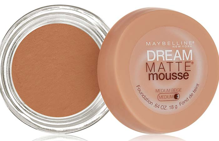 Maybelline Dream Matte Mousse Foundation Medium Beige 80