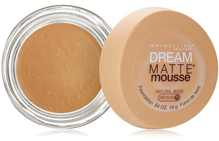 Maybelline Dream Matte Mousse Foundation Natural Beige 75