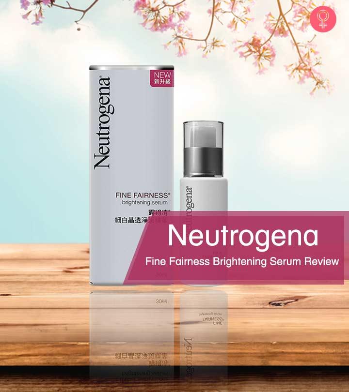Neutrogena-Fine-Fairness-Brightening-Serum-Review