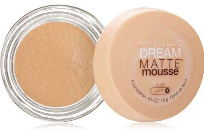 Maybelline Dream Matte Mousse Foundation Nude 40