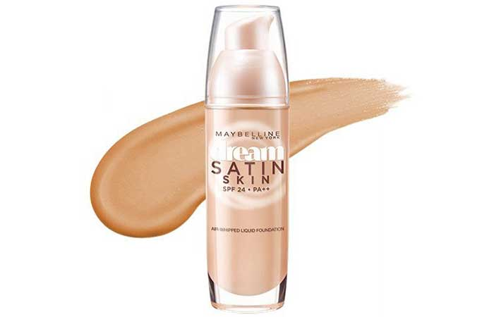 Maybelline Dream Satin Liquid Foundation - Nude Beige B4 Shade
