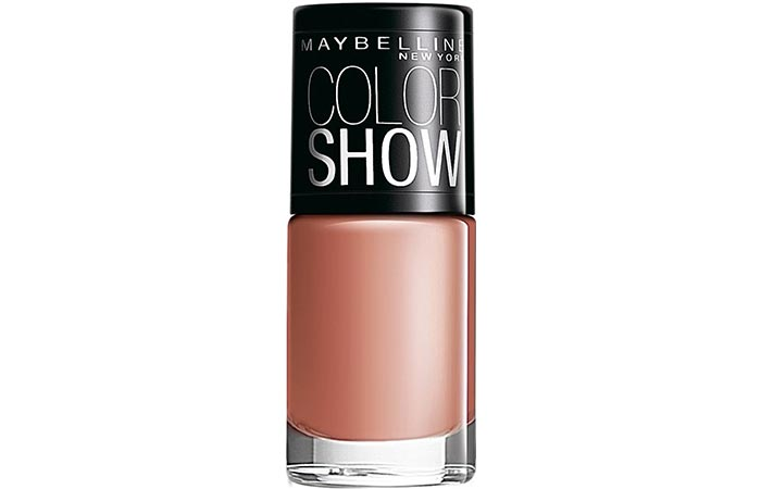 Maybelline Color Show Nail Lacquer Nude Skin