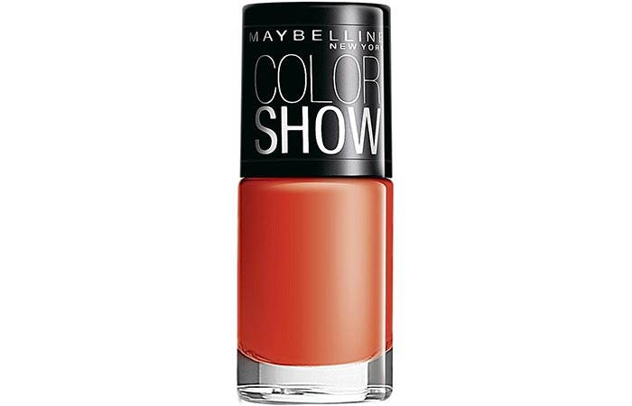 Maybelline Color Show Nail Lacquer Orange Fix