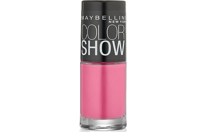 Maybelline Color Show Nail Lacquer Pinkalicious