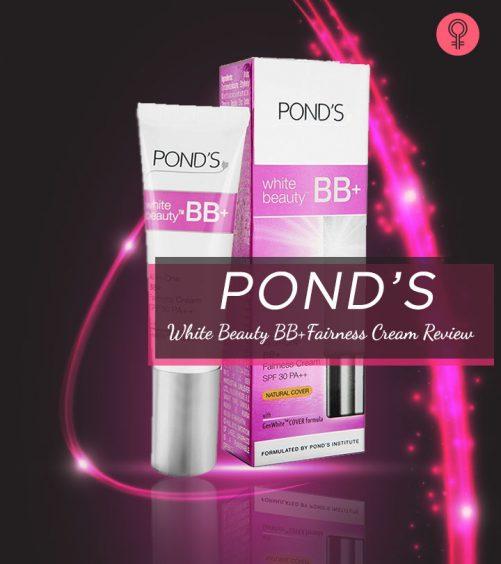 Pond's White Beauty BB+Fairness Cream Review (2)