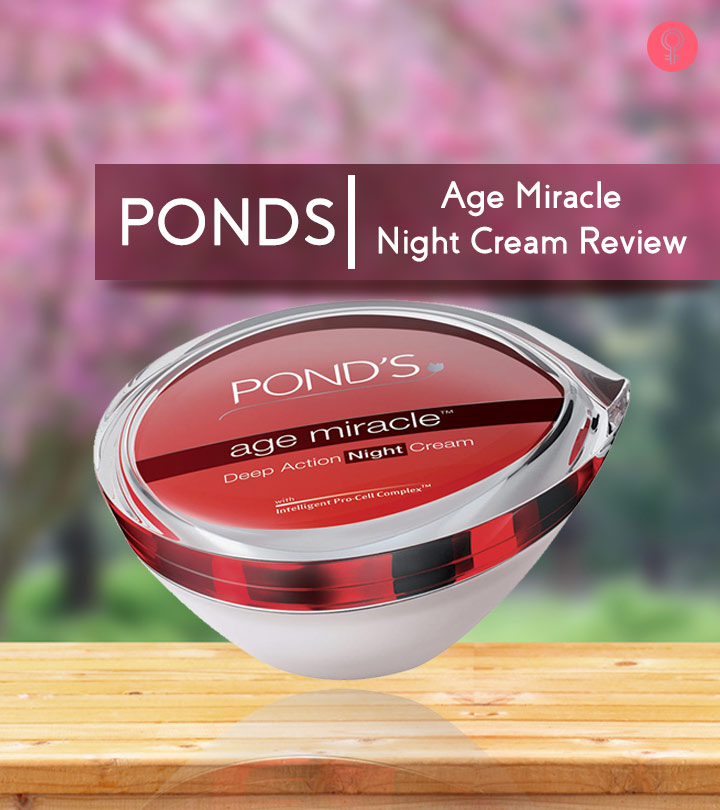 Ponds Age Miracle Night Cream Review