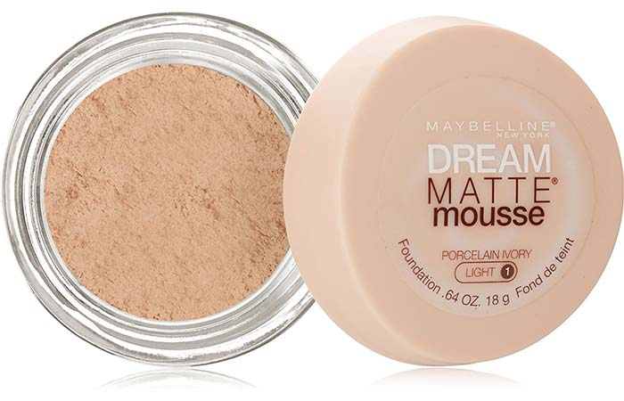 Maybelline Dream Matte Mousse Foundation Porcelain Ivory 10