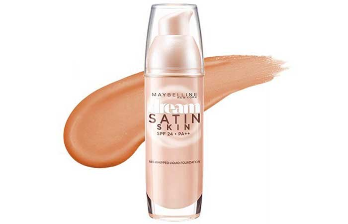 Maybelline Dream Satin Liquid Foundation Shades - Porcelain O2