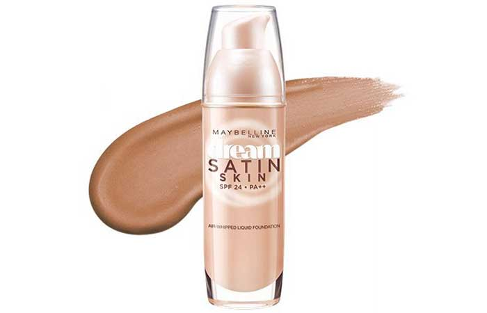 Maybelline Dream Satin Liquid Foundation - Pure Beige O4 Shade