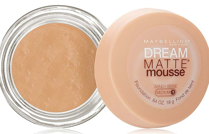Maybelline Dream Matte Mousse Foundation Sandy Beige 60