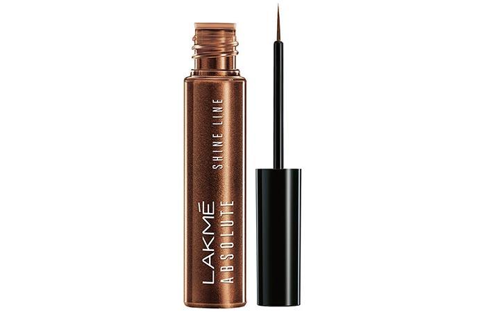 Lakme Absolute Shine Line Eyeliner - Shimmery Bronze Shade
