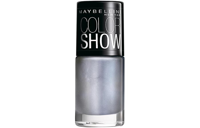 Maybelline Color Show Nail Lacquer Silver Linings