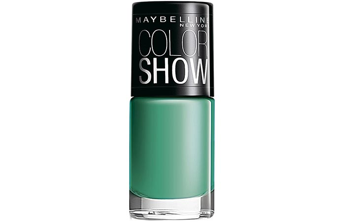 Maybelline Color Show Nail Lacquer Tenacious Teal