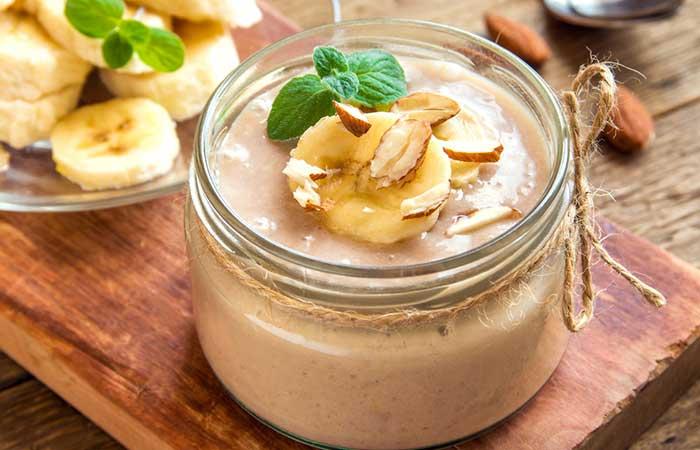 Colazione salutare - Smoothie alla banana e alla cannella