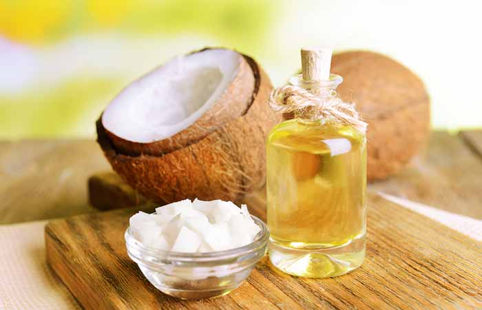 Cradle Cap - Coconut Oil