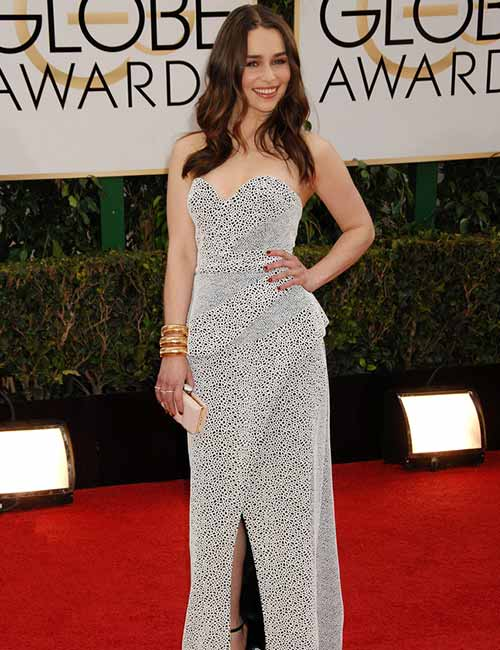 Short Female Celebrities - Emilia Clarke