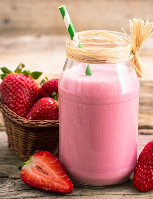 Melissa McCarthy Weight Loss - Oats And Strawberry Breakfast Smoothie