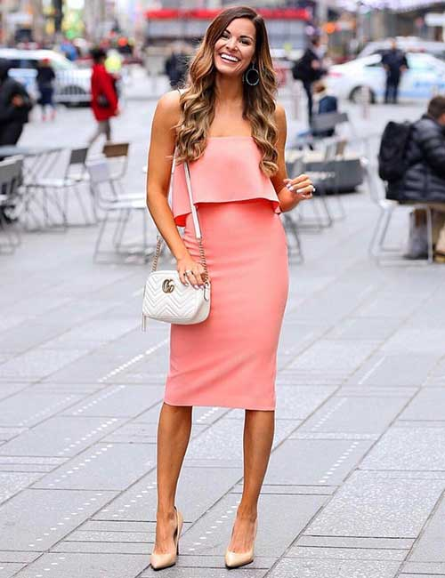 Beautiful Wedding Guest Dress Ideas - Pastel Colored Dress
