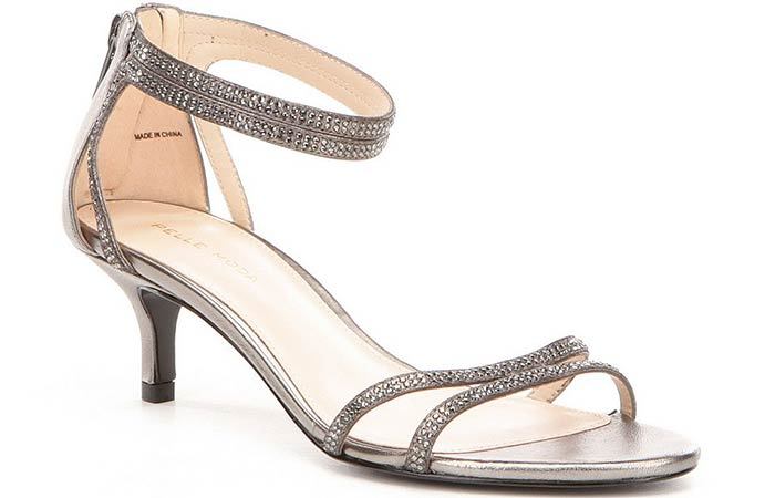Bridal Wedding Shoes - Silver Wedding Shoes
