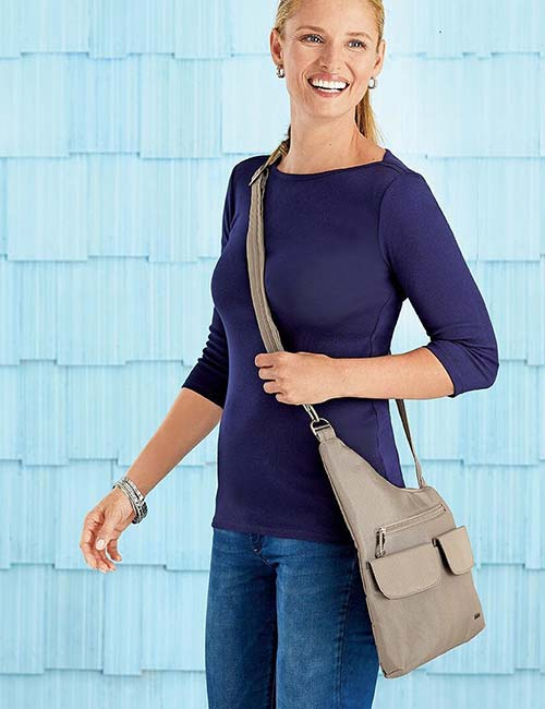 1. Travelon Anti-Theft Body Bag