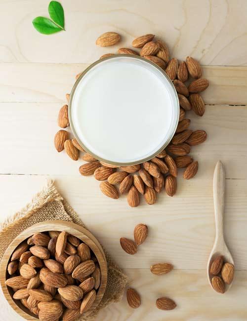 10. Chia Seed Almond Milk