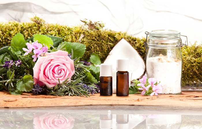 10. Rose Geranium Oil