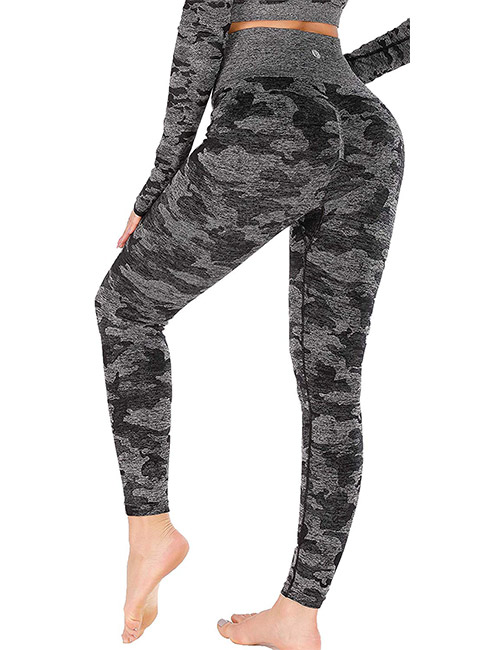 11. Running Girl Camo Workout Leggings