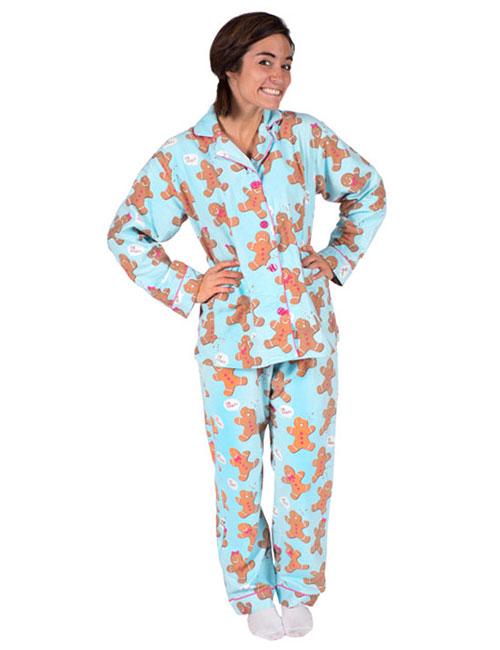 Best Women's Pajamas - Gingerbread Pajamas