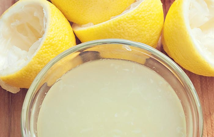 12. Lemon Juice