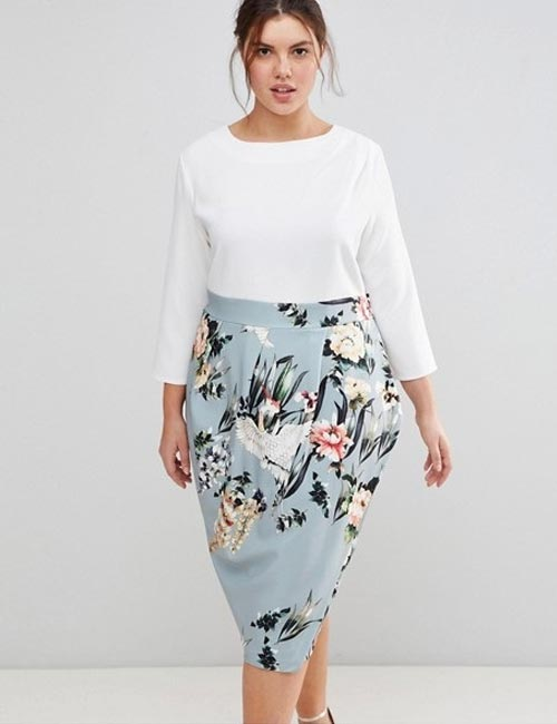 Beautiful Wedding Guest Dress Ideas - Pencil Skirt Dress