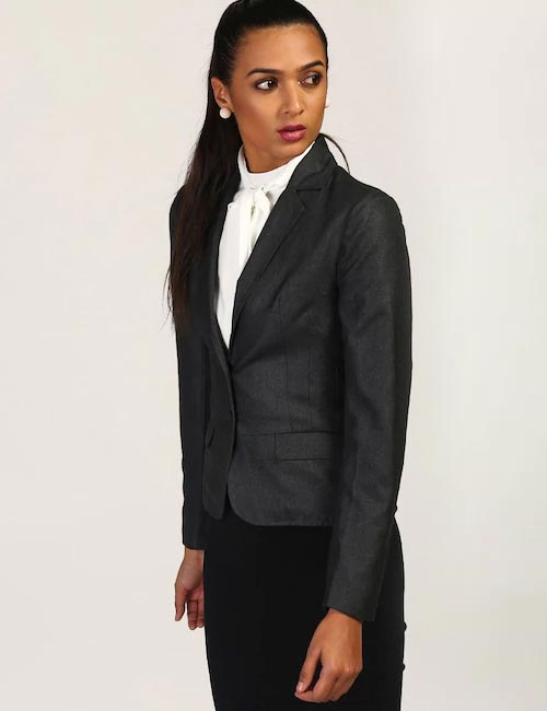 How To Wear A Blazer - Two Button Blazer For Work
