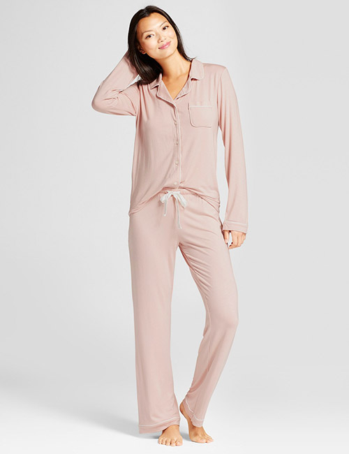 13. Cotton And Spandex Blend Pajamas For Summer