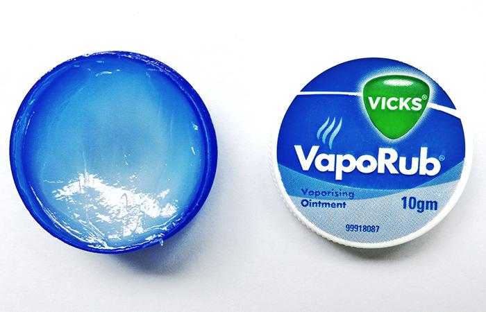 14. Vicks VapoRub