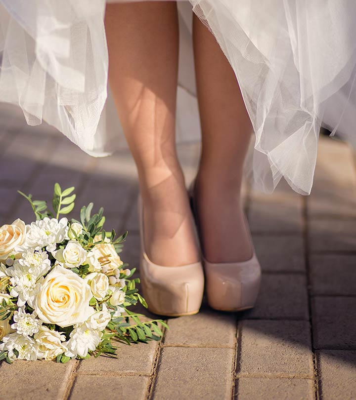 c9959abd0431 17 Comfortable Wedding Shoes For The Bride