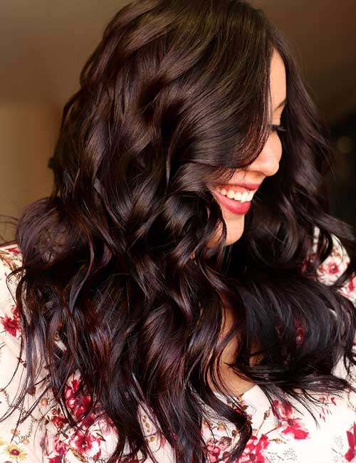 30 Best Shades Of Brown Hair - Rich Dark Brown Hair Color