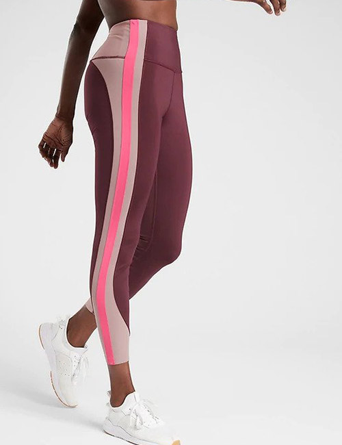 19. Athleta Crunch Colorblock 78 Tight in SuperSonic