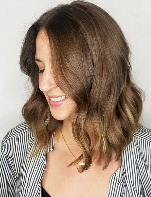 30 Best Shades Of Brown Hair - Light Brown Hair Color