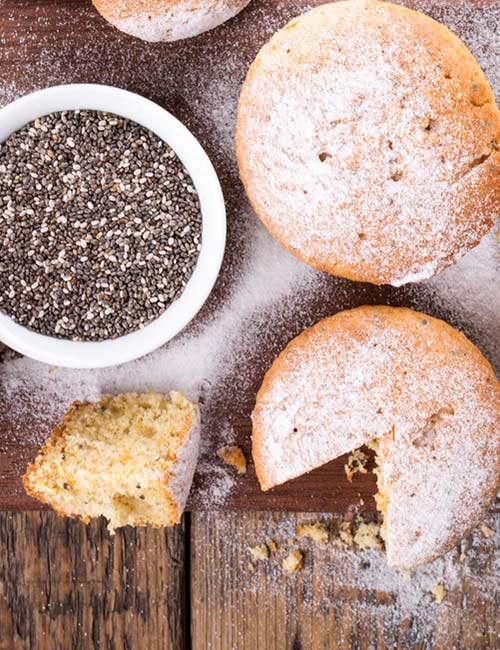 2. Chia Seed Muffin