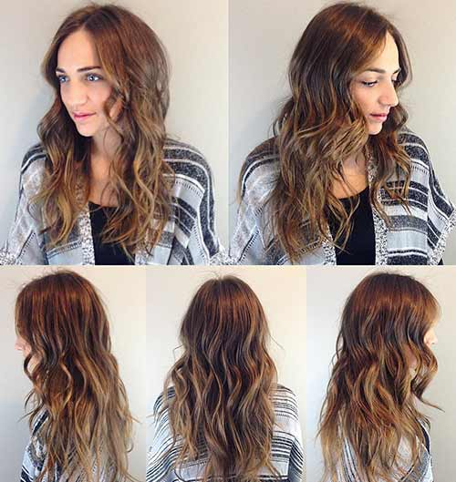 30 Best Shades Of Brown Hair - Golden Honey Brown Hair Color