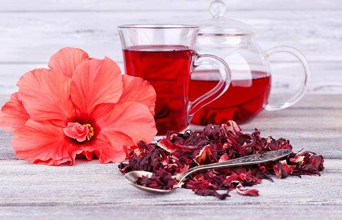 2. Hibiscus Tea