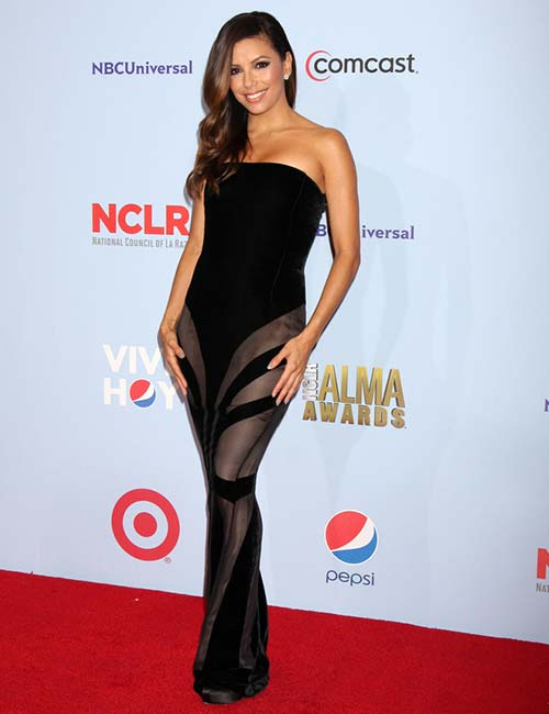 Short Female Celebrities - Eva Longoria