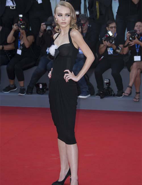 Short Female Celebrities - Lily-Rose Depp