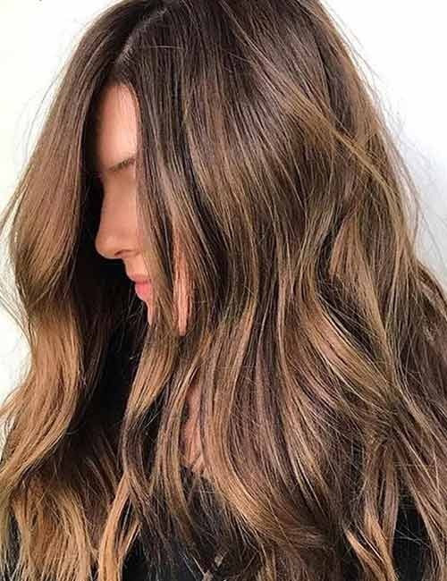 30 Best Shades Of Brown Hair - Caramel Brown Hair Color